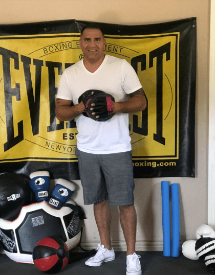private boxing coaching